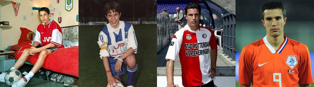Sự nghiệp cầu thủ của Robin Van Persie