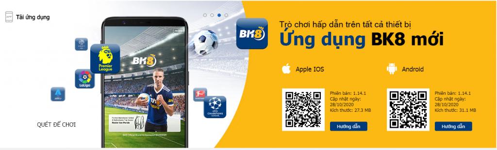 Tải app BK8 truy cập nhanh chóng và dễ dàng
