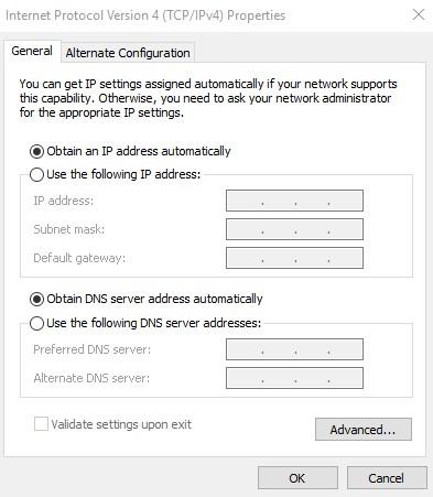 Đổi DNS trên máy tính